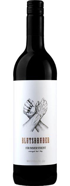 Karl May Blutsbruder Cuvee Red wine / vinho / vino mxm