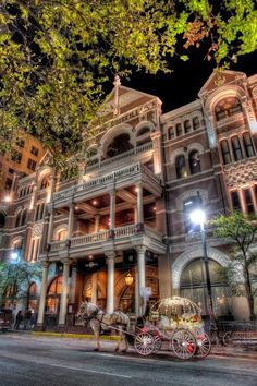 The Driskill ~ Austin, Texas - Explore the World with Travel Nerd Nici, one Country at a Time. http://travelnerdnici.com