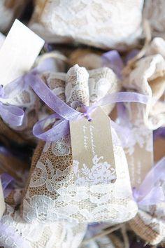 Romantic Portovenere Italy Destination Wedding, Lace Patches with Dried Lavender   Brides.com