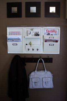 So want a mail organization station somewhere in my home!