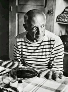 """i love picasso's shirt—and his """"bread hands"""", too. (december 2013.)"""