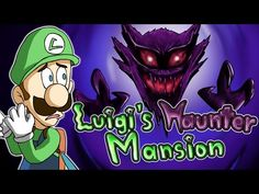 Luigi's Haunter Mansion - YouTube Haunted Mansion, Luigi, Mansions, Youtube, Fictional Characters, Manor Houses, Villas, Mansion, Fantasy Characters