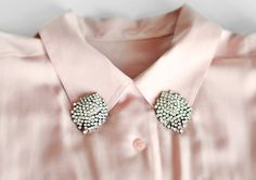 The Beading Gem's Journal: LoveMaegan's Great Upcycled Jewelry Ideas for Embellished Collar Tips