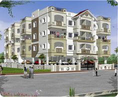 1BHK, 2BHK & 3BHK Apartments for sale in Hulimavu, off Begur Road, Bangalore at Comfort Dynasty.