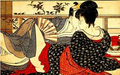 Some Shunga by Kitagawa Utamaro  Discover the coolest shows in New York at www.artexperience...