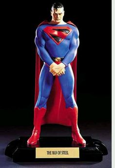 """from $175.0 - Alex Ross Superman """"kingdom Come"""" Full Size Statue Dc Direct Figure Figurine Toy"""