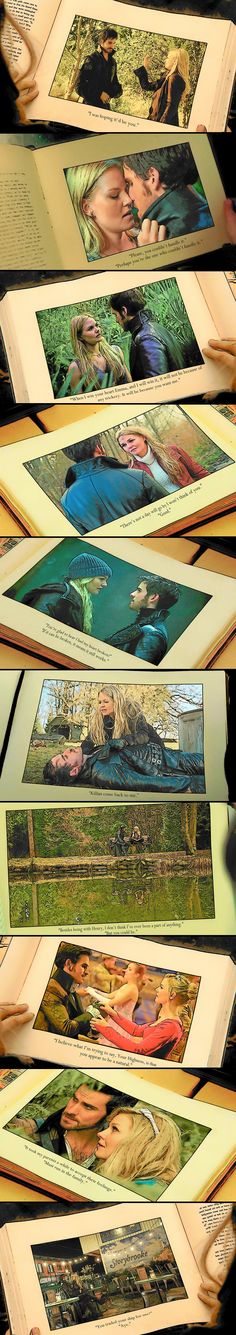 """The Tales of Captain Hook and Emma Swan.""---- This is spectacular."