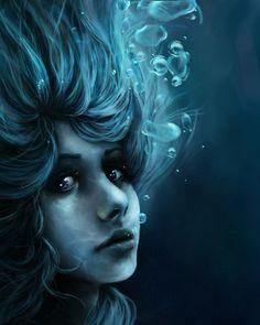deep water by thali-n - Incredible Water Inspired Digital Art   <3