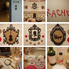 """Sherlock Holmes party based on """"A Study in Scarlet"""""""