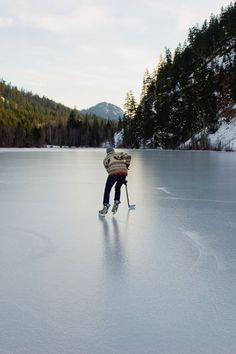 Playing ice hockey on a frozen lake in the dead of winter - awesome! Winter Fun, Winter Cabin, Winter Snow, Adventure Is Out There, Plein Air, Land Scape, The Great Outdoors, Tromso, Skate