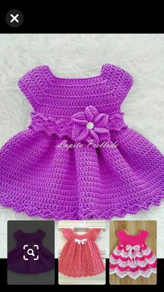 Crochet Toddler Dress, Crochet Girls, Crochet Baby Clothes, Crochet Hats, Baby Girl Dresses, Kids And Parenting, Frocks, Toddlers, Style Inspiration