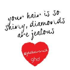 #ghdhaircrush Daily Beauty, Ghd, Salon Ideas, Your Hair, Valentines, Nails, Style, Valantine Day, Finger Nails