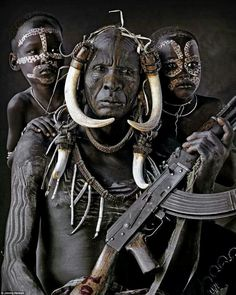 African warriors, source unknown