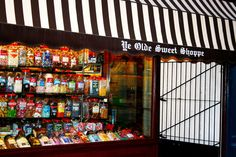 Traditional Sweets ~ and a huge variety! Ye Olde Sweet Shoppe, Hotel Street, Leicester