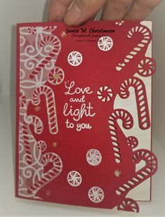 Having the dies that coordinate with the stamps that blend so easy with the card stock and inks that coordinate are so much fun to create with.  Sweetest Time Bundle makes it so easy. In the Holiday Catalog available Aug 4th you will find on page 21 this beautiful set.  Check out my other samples on my blog at Stampin'withJanice.com  Stampin Up Christmas, Christmas Minis, Christmas Cards To Make, Christmas Settings, Xmas Cards, Handmade Christmas, Poppy Cards, Stamping Up Cards, Boarders