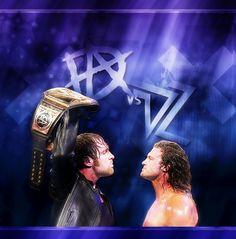 """""""Dean Ambrose vs Dolph Ziggler at SummerSlam… """""""