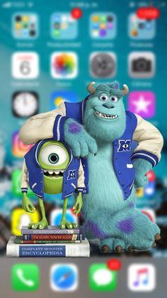 Monster Inc. ❤️ Wallpaper for you phone