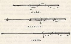 """Olden days whaling tools - nowadays they are bigger, faster and more """"humane""""  - makes me want to get sick!!!"""
