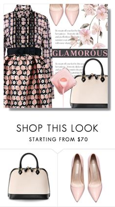 """Glamour"" by cilita-d ❤ liked on Polyvore featuring RED Valentino and Aspinal of London"