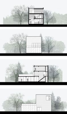 Gallery of TIT Creative Park / Atelier cnS - 24 - Baustil Architecture Concept Drawings, Architecture Visualization, Architecture Graphics, Architecture Details, Architecture Layout, Architecture Diagrams, Coupes Architecture, Architecture Presentation Board, Presentation Boards