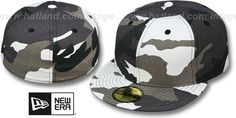 New Era '59FIFTY-BLANK' Urban Camo Fitted Hat $28.00