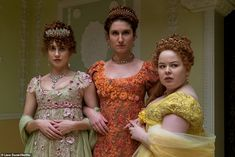 How much of Netflix's Regency romp Bridgerton is historically accurate?   Daily Mail Online Kelly Clarkson, Jane Austen, Downton Abbey, Gossip Girl, Phoebe Dynevor, Grave, Regency Era, Regency Dress, Period Costumes