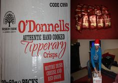 O'Donnells Tipperary hand cooked Crisps