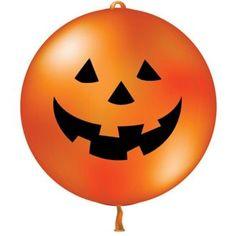 pumpkin balloon  dyniowy balon