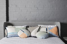 Screen printed by hand for enduring #quality, these 100% #Linen #Cushions are a #refreshing #detail for every #LivingSpace. Find them all here: http://kateandkate.com.au/shop/category/linen/linen-cushions/
