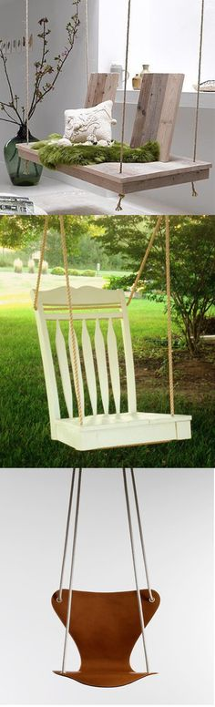 Reciclar y hacer columpios/ Recycle and make swings #recycle design