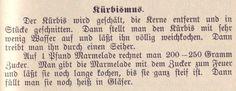Kürbismarmelade 1907