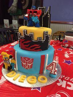 Transformers rescue bots cake