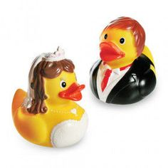 The Bride and Groom rubber ducks are an original and fun gift to surprise your partner on special occasions. In addition, they are also an excellent toy for kids, who can play with them in the. Wine Glass Charms, Rubber Duck, Amazing Bathrooms, Decoration, Bride Groom, Kids Toys, Party Favors, Marie, Wedding Gifts