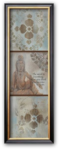 "Find inner peace with this framed art print. Featuring a quote by the Buddha, it is sure to add a sense of calm to any room in your home. Shop our full selection of framed wall art at Kohls.com. <ul> <li>High-quality print produces vibrant colors.</li> <li>Hand-crafted frame from the finest grade of wood exudes elegance.</li> <li>Details:</li> <li>Name: ""Inner Peace II""</li> <li>Artist: Hakimipour-Ritter&lt"