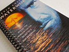 Notebook, 4.00 X 7.50, 90 pages, VHS Video Box, Upcycled Notebook, Gift Ideas, Drawing Pad, VHS Blank Book, Movie Notebook, Waterworld by LeeEmporium on Etsy