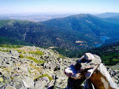 Espectacular la vista desde lo mas alto de la Pinareja viendo el embalse del río Moros y el Pico el Águila