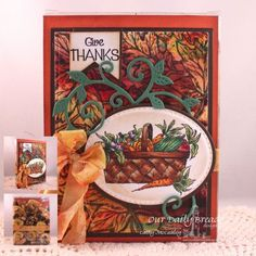 Our Daily Bread Designs Stamp sets: Plant a Garden, Leaves Background, Our Daily Bread Designs Custom Dies: Ovals, Stitched Ovals, Pennants, Nor Coast Creations Custom Die: Flourished Vine