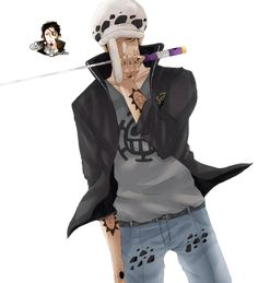 Trafalgar Law Render 3 by Aki-ya.deviantart.com on @DeviantArt