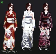 traditional japanese dress - Google Search