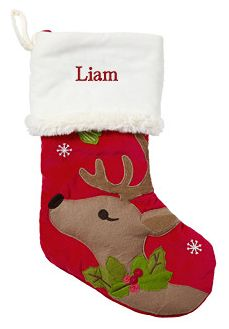 Pottery Barn Woodland Christmas stockings just $22 and FREE shipping