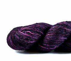 RAISIN superwash merino/cashmere/silk by pigeonroofstudios on Etsy, $28.00