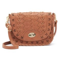 Under One Sky Laced & Perforated Mini Crossbody Bag, Women's, B