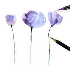 Watercolor Brush Pens - 20 Piece Set