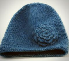 Free Knitted Flower Patterns | Cast on 72 sts. Join in the round, place marker for end of round.