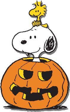 Happy Halloween Snoopy and Woodstock