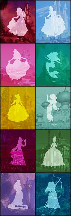 Inspiration - Disney Princesses