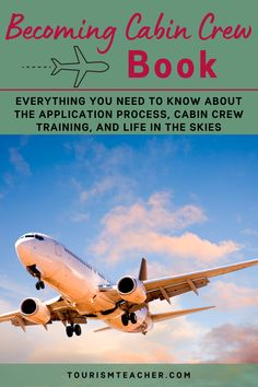 Is it your dream to get paid to travel? This cabin crew book will teach you everything you need to know about the application process, cabin crew training, and life in the skies. From tips on how best to write your application form through to what to wear for your assessment day or how to prepare for your interview, you will feel much more prepared after reading the first chapter of the book. | airline attendant | cabin crew | airline cabin crew | male cabin crew | cabin crew training… Become A Flight Attendant, Flight Attendant Life, Cabin Crew Recruitment, Cabin Crew Jobs, Airline Attendant, Airline Cabin Crew, Travel Jobs, Application Form, Assessment