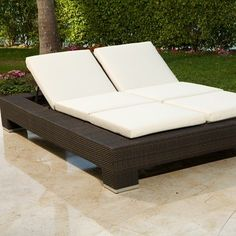 CLICK IMAGE TWICE FOR UPDATED PRICING AND INFO) #chairs #outdoorchairs #poolchairs #loungechairs #outdoorreclinerchair #patio #pool #outdoor SEE MORE patio lounge chairs at http://zpatiofurniture.com/index.php?cat=1716=meta_value=price=asc Source Outdoor King Double Chaise Lounge Chair, Rust « zPatioFurniture.com