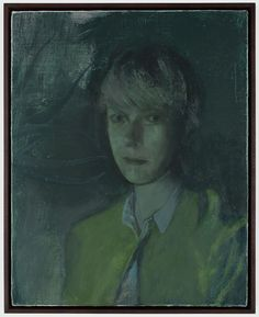 Victor Man, Untitled, (portrait of S.D.)