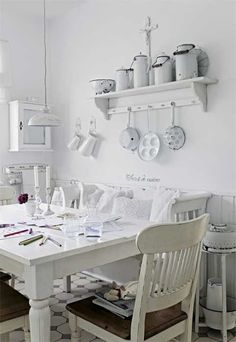 Shabby and Charming: In Bavaria, a beautiful house in shabby chic style